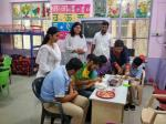 COOKING WITHOUT FIRE : Students of Inclusive Wing participated in Cooking without fire activity