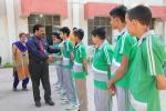 Inter House Sports Competitions : Model Academy The Prestigious School of MIER Organised Inter House Sports Competitions