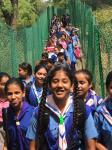 Scouts and Guides Parvesh & Pratham Supan Cammp : Students of Model Academy participated in Scouts and Guides Parvesh and Pratham Sopan Camp