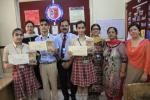Amazing Archeological sites : Members of the Heritage Club brought laurels to the school by winning Best Entry Awards under the Category Amazing Archeological Sites