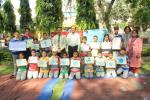 Earth Day Celebration : ECO Club celebrates Earth Day by organizing painting competition